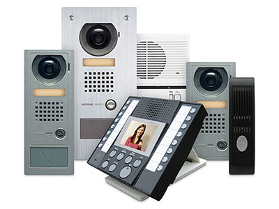 Aiphone Interratable AV security system