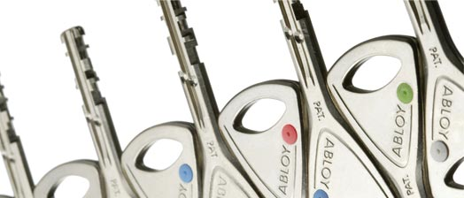 Abloy Protec restricted key system
