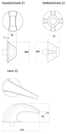 Detention Centre Lockwood door furniture specifications