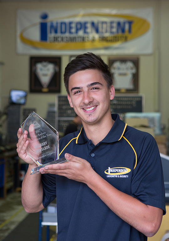 MLAA John Andrews Apprentice of the Year award