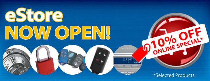eStore Now Open! 10% Off Selected Products Online
