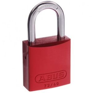 Abus 003 Padlock Red - Independent Locksmiths