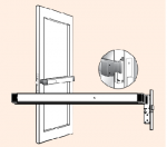 Adams Rite Mortise Exit Device - Independent Locksmiths