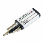Keyport Slide (alternative keychain), White - Independent Locksmiths