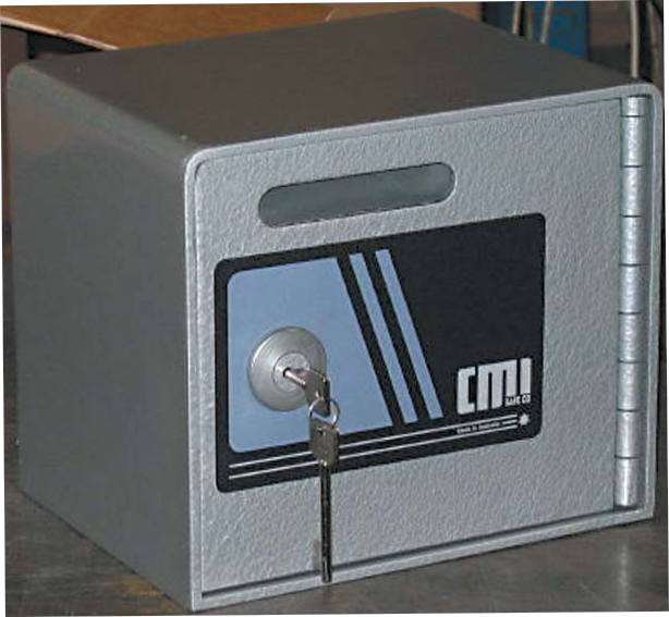 CMI Under-Counter Safe Slot Box - Independent Locksmiths